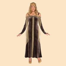 Renaissance Maiden Medieval Royal Lady Grey Maid Marion Tudor Adult Costume Std
