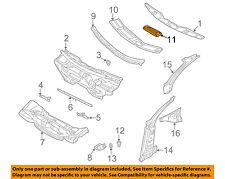AUDI OEM 98-04 A6 Quattro Cowl-Water Deflector Cover 4B1819422A01C