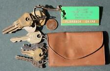 1960s Era Bradenton,Florida Sunset Trailer Village Mobile Home park 2 keychains!