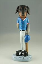 Baseball Doberman Blk Red Interchangable Body See All Breeds Bodies @ Ebay Store