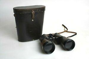 Rare Leitz (Leica) Maroctit 8X60 Binoculars #591336 with Case