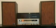 MARANTZ MODEL 28 ALL-IN-ONE: RECEIVER, IMPERIAL IV SPEAKERS, GARRARD TURNTABLE