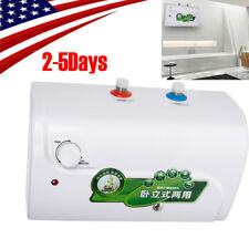110V 8L Electric Tankless Hot Water Heater Kitchen Bathroom Home 30℃-65℃【USA】CE