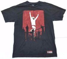 WWE authentic wear Daniel Bryan graphic t-shirt men sz M YES black