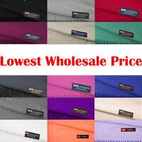 Wholesale Lot Women Men Winter Warm 100% Cashmere Scotland Plain Scarf Wrap Soft