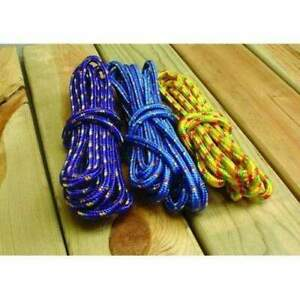 """Attwood Utility Line Braided Multiple-Color Rope 3/8"""" x 25' #11704-2"""
