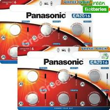 12 x Panasonic CR2016 3V Lithium Coin Cell Battery 2016