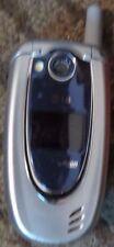LG VX5200 - Silver (Verizon) Cellular Phone Fast Shipping Good Used Flip