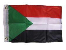 Wholesale Pack of 6 Sudan Country Flag Bike Hat Cap lapel Pin