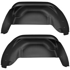 Husky Liners 79021 Rear Wheel Well Guards Black 2015-2017 Chevrolet Colorado