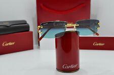 New CARTIER RIMLESS PICCADILLY occhiali  Frame BIG C DECOR Nuovi signature Lens