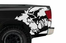 Custom Rear Vinyl Decal Wrap Kit Fits Nissan Titan Truck 2004-2013 SCREAM WHITE