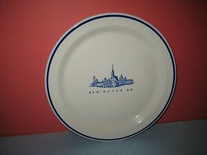 "New York New Haven & Hartford, Old Saybrook China Pattern. Dinner Plate 9"", sc"
