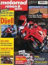 MRS9701 + Vergleich HONDA SLR 650 vs. BMW F 650 + motorrad reisen & sport 1/1997