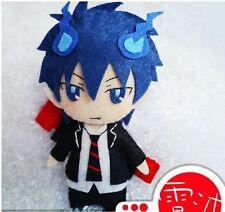 Japanese Cosplay Ao No Exorcist Okumura Rin DIY toy Doll keychain Anime