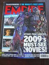 EMPIRE MAG 236 FEB 2009 ROBERT DOWNEY DANIEL RADCLIFFE BRAD PITT SHERLOCK HOLMES