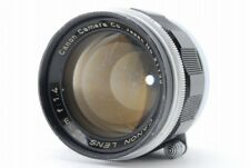 【C Normal】 Canon 50mm f/1.4 MF Lens for Leica L39 Screw Mount From JAPAN R3386