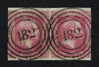 PREUSSEN 1857 Nº 6 BREMEN 182