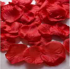 red 500pcs Basket Rose Artificial Petals Silk Flower Wedding Party Decoration