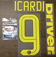 Stilscreen Official Nike Inter Milan Home Authentic Nameset Full ICARDI 9 16/17