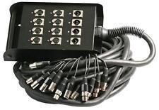 XLR Multi-Coeurs 8/4 40M Câble Assemblement Audio & Vidéo