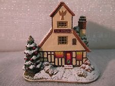Lilliput Lane The Angel Inn Illuminated Cottages Collection Enesco 2012 L3460