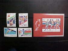 China Prc Sct # 2397-2401 1992 Summer Olympics Mnh