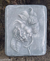 Flower plaque plastic mold  concrete plaster mould