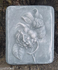 Flower plaque plastic mold  concrete plaster mould