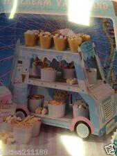wedding birthday retro ice cream van sweet stand table decoration cart