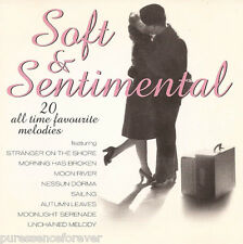 V/A - Soft & Sentimental: 20 All Time Favourite Melodies (UK 20 Tk CD Album)