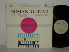 TONY MOTTOLA Roman Guitar Volume Two Charles E. Murphy Nina Summertime In Venice
