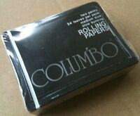 RARE VINTAGE 1976 COLUMBO Collectible Rolling Papers STILL SEALED 2 PACK Lot NOS