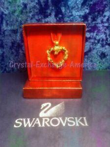 Swarovski Crystal GCC Braided Heart 62007  MIB