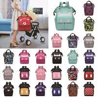 Diaper Bag Large Capacity Mummy Nursing Backpack Baby Care Handbags Waterproof