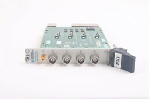 National Instruments NI PXI-4462 24-Bit 204.8 kS s Sound and Vibration Module