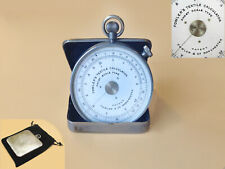 1930's Fowlers Textile Calculator Short Scale Type in steel case