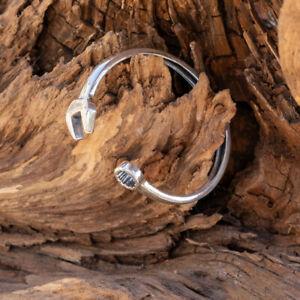 Spanner Tool Torc Torque 925 sterling silver bangle biker viking jewellery