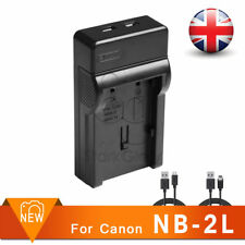 Nb-2L 2Lh Camera Usb Battery Charger for Canon Eos 350D 400D Digital Rebel Xti