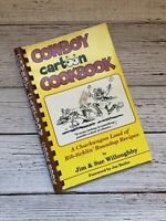 Vintage Cowboy Cartoon Cookbook 2001 Tex Mex Cowboy Southwest Recipes