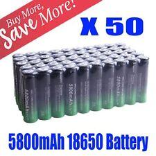 Powerful 50PCS 5800mah 3.7v Efficient Li-ion Cell Rechargeable 18650 Battery BOP