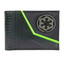 Star Wars Wallet Rogue One Galactic Empire Metal Logo Bifold Officially Licensed