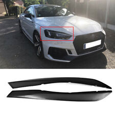 For AUDI A5 S5 RS5 2017 2018 Eyelid Eyebrows Headlight Cover Factory 2PCS FRP