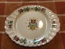 American Limoges Old Dutch Pattern Plate Oval Small Platter- RARE Size & Shape