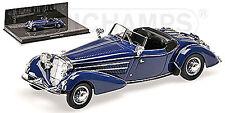 Horch 855 Special Roadster 1938 blau blue L.E. 336 pcs. 1:43 Minichamps