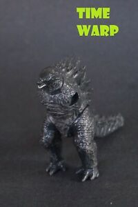"""GODZILLA KING OF THE MONSTERS 2019 JAKKS 3.5"""" TALL MISSING ARMS AND TAIL PIECE"""