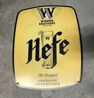 Widmer Brothers Brewing ~Beer metal Sign ~ Tin Tacker ~Portland , Oregon