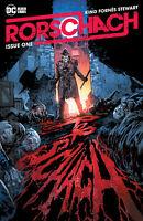 Rorschach 1 DC Black Label 2020 Ken Lashley Trade Variant Watchmen