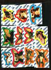 1984 Topps Gremlins Sticker Set 11 Stickers Series 1