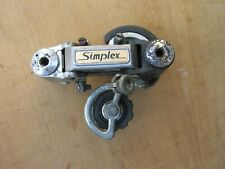 SIMPLEX SX 810 DERAILLEUR ARRIERE VELO COURSE ANCIEN VINTAGE BICYCLE REAR